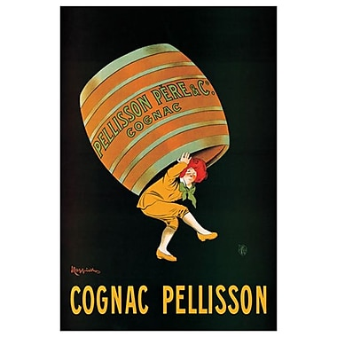 Cognac Pellisson by Cappiello, Canvas, 24