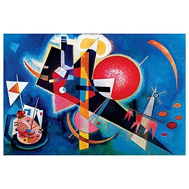 Blue by Kandinsky, Canvas, 24