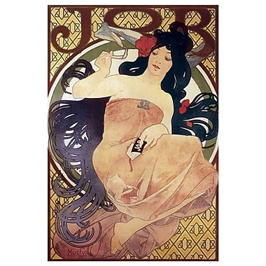 JOB by Mucha, Canvas, 24