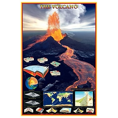 Volcano, Stretched Canvas, 24