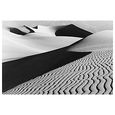 Sand Dunes Death Valley I- CA, Stretched Canvas, 24