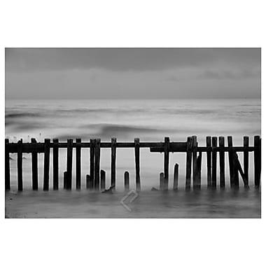 Old Pier II by Settle, Canvas, 24