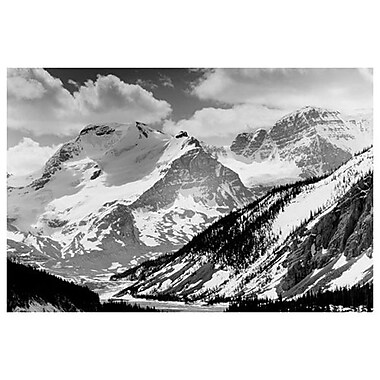 Jasper Natl Park Rockies, Stretched Canvas, 24