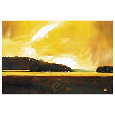 Yellow Storm Lake by D'Agostino, Canvas, 24