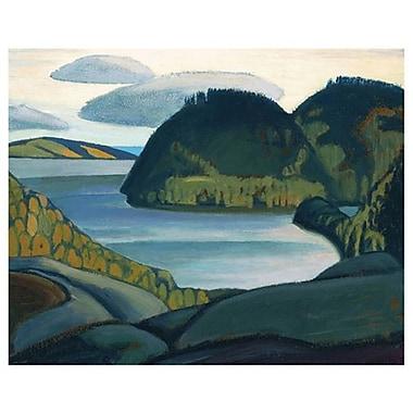 Baie Coldwell, au nord du lac Supérieur de Harris, toile, 24 x 36 po