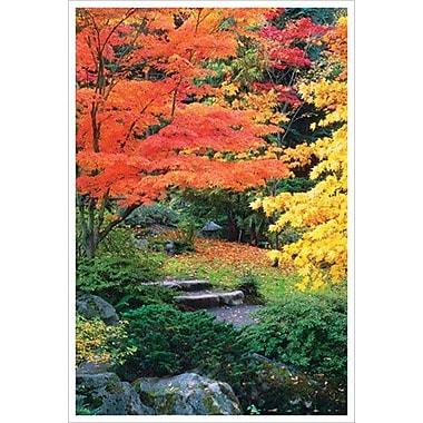 Solitude d'automne, toile tendue, 24 x 36 po