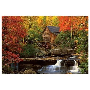 Le vieux moulin, toile tendue, 24 x 36 po