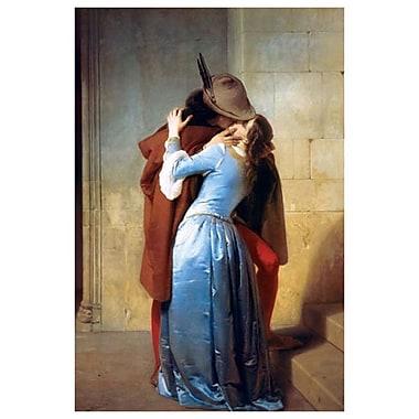 Le Baiser de Hayez, toile, 24 x 36 po