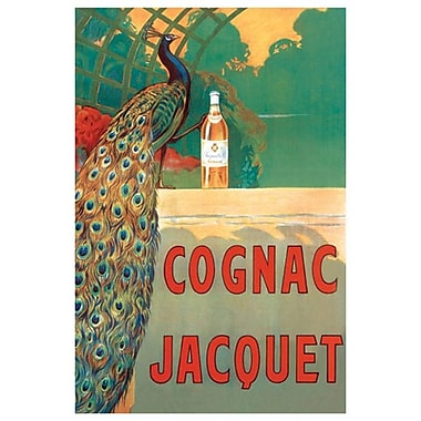 Cognac Jacquet by Cappiello, Canvas, 24