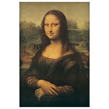 Mona Lisa by Da Vinci, Canvas, 24