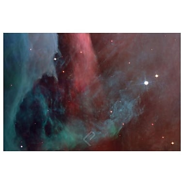 NASA - Ghostly Nebulae, Stretched Canvas, 24