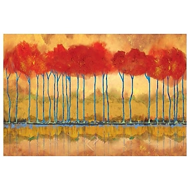 Amber Riverbank by Jones,, Canvas, 24