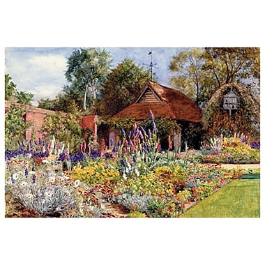 Garden Golden Field de Williams, toile, 24 x 36 po