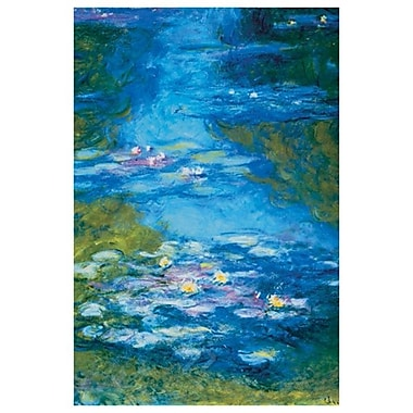 Waterlilies by Monet II, Canvas, 24