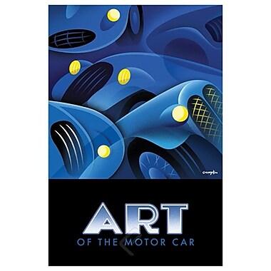 Art of Motor Car 1 by Crampton, Canvas, 24
