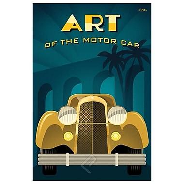 Art of Motor Car 2 by Crampton, Canvas, 24