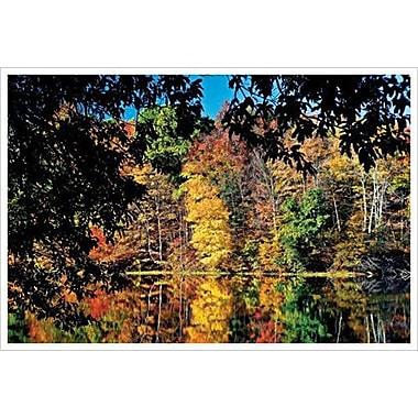 Fall Scene In Ohio 10 de Sellers, toile, 24 x 36 po