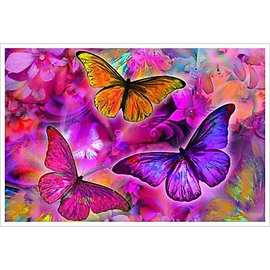 Rainbow Orchid Morph by Mullins, Canvas, 24