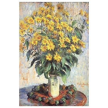 Jerusalem Artichokes by Monet, Canvas, 24