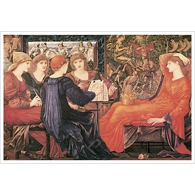 Laus Veneris by Burne-Jones, Canvas, 24