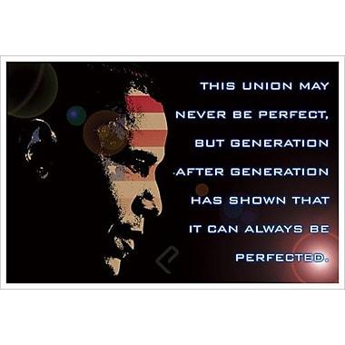 Obama – This Union, toile tendue, 24 x 36 po