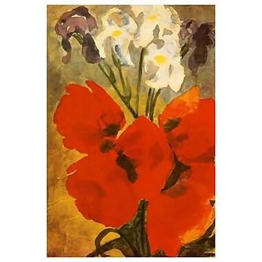 Aquarelle Wien Albertina by Nolde, Canvas, 24