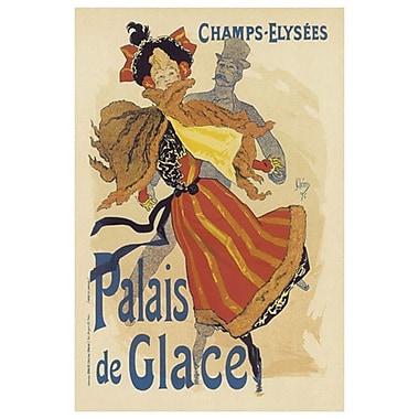Palais De Glace de Cheret, toile, 24 x 36 po