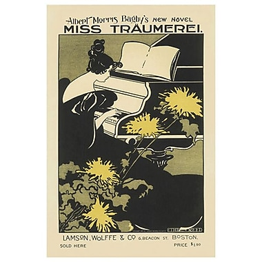Miss Traumerei de Reed, toile, 24 x 36 po