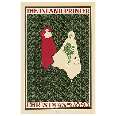The Inland Printer de Bradley, toile, 24 x 36 po