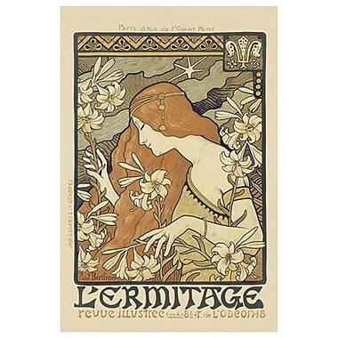 L'Ermitage Magazine by Berthon, Canvas, 24