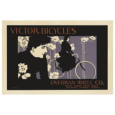 Victor Bicycles by Bradley, Canvas, 24