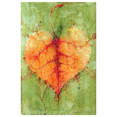 Leaf 1 by Wang, Canvas, 24