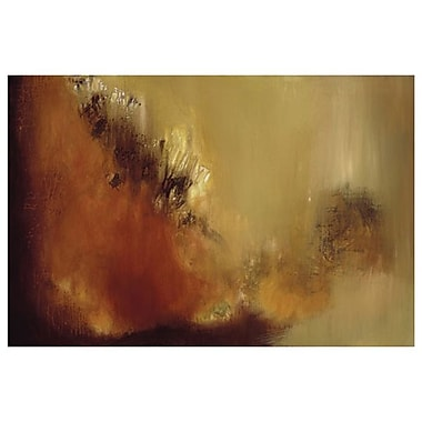 Mur de feu 3 par Aviram, toile, 24 x 36 po