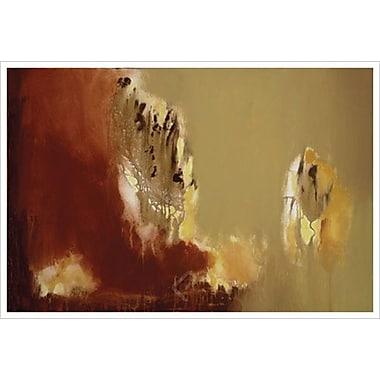 Mur de feu 4 par Aviram, toile, 24 x 36 po