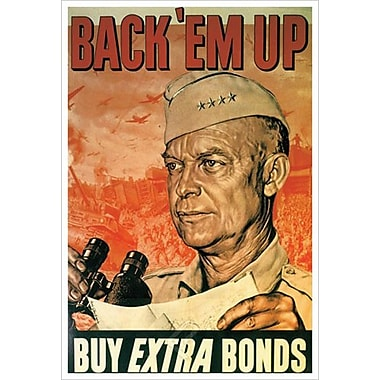 Back'em Up Bonds by Chaliapin, Canvas, 24