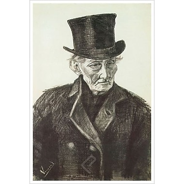Orphan Man With Hat by Van Gogh, Canvas, 24