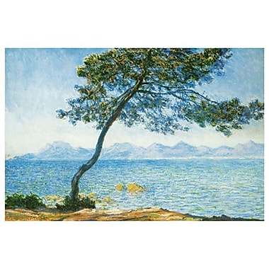 Antibes by Monet, Canvas, 24