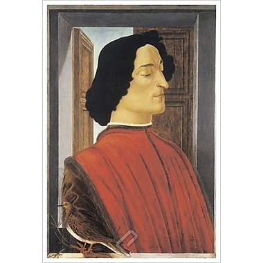 Giuliano de Medici by Botticelli, Canvas, 24