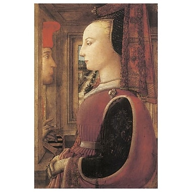 Woman & Man At Window by Lippi, Canvas, 24