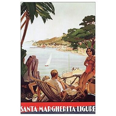 Santa-Margherita-Ligure, Stretched Canvas, 24