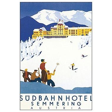 Sudbahn Hotel by Hermann, Canvas, 24