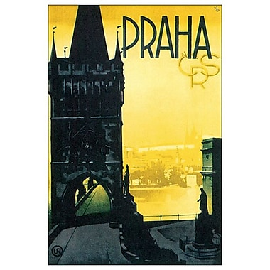 Praha CRS, Stretched Canvas, 24