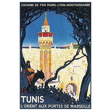 Tunis Marseille by Broders, Canvas, 24