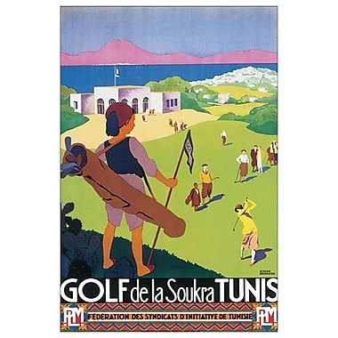 Golf Soukra Tunis by Broders, Canvas, 24