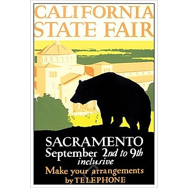 California State Fair, toile, 24 x 36 po