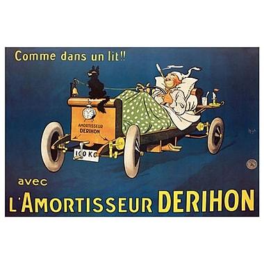 L'Amortisseur Derihon by Mich, Canvas, 24