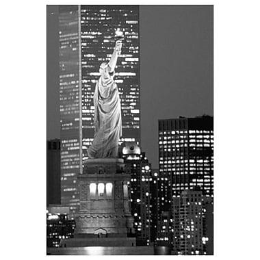 New York (noir et blanc), toile tendue, 24 x 36 po
