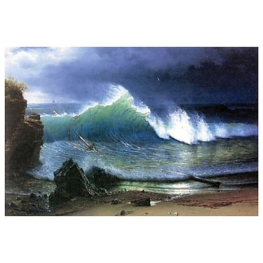 Coast Emerald Lake by Bierstadt, Canvas, 24