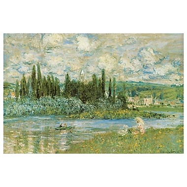 The Seine River by Monet, Canvas, 24