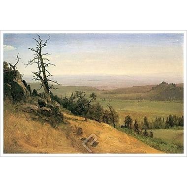 Wasatch Mountain by Bierstadt, Canvas, 24